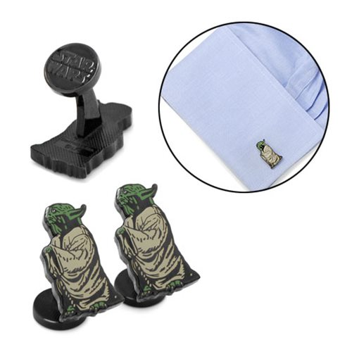 Star Wars Wise Yoda Cufflinks