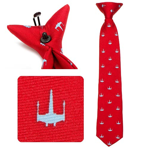 Star Wars X-WIng Red Boys Silk Clip-On Tie