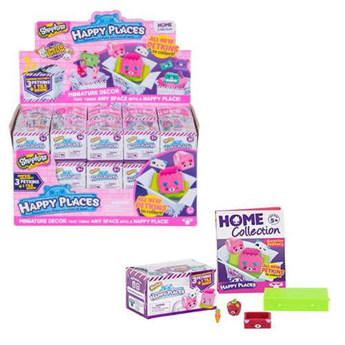 Shopkins Happy Places Series 2 Delivery Pack Display Tray