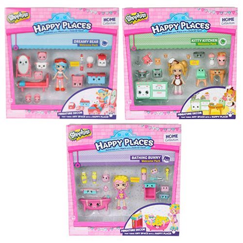Shopkins Happy Places Series 2 Welcome Pack Case