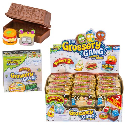 The Grossery Gang S2 Surprise Pack Mini-Figure Display Tray