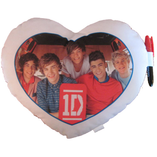 1D Band Small Autographed Pillow