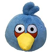 Angry Birds Blue Bird 16-Inch Plush