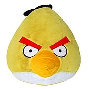 Angry Birds Yellow Bird 16-Inch Plush