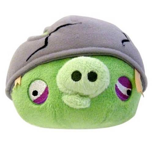 Angry Birds Helmet Pig 16-Inch Plush with Sound