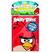 Angry Birds Red Bird Printed Flag