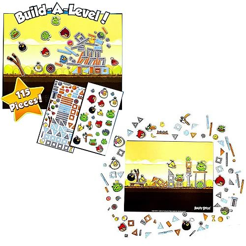 Angry Birds Playset Magnets