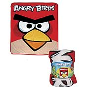 Angry Birds Red Bird Throw Blanket