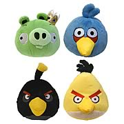 Angry Birds Talking 12-Inch Plush Set B Case