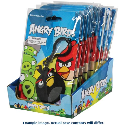 Angry Birds Laser Cut Backpack Clips Case