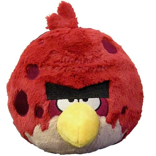 Angry birds big brother 16 inch talking plush commonwealth angry birds plush at - Angry birds big brother plush ...