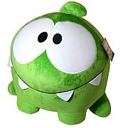 Cut the Rope Om Nom Happy 16-Inch Plush