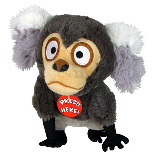 Angry Birds Rio Monkey Talking 8-Inch Plush