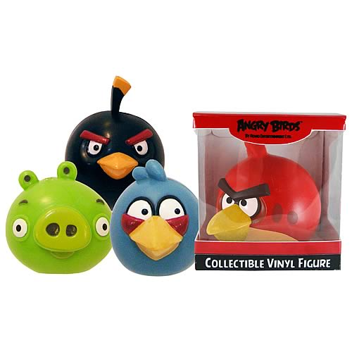 Angry Birds 3-Inch Roto-Figures Case