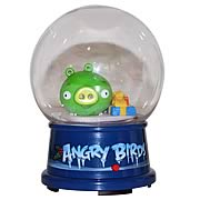 Angry Birds Dumb Green Pig Snow Globe