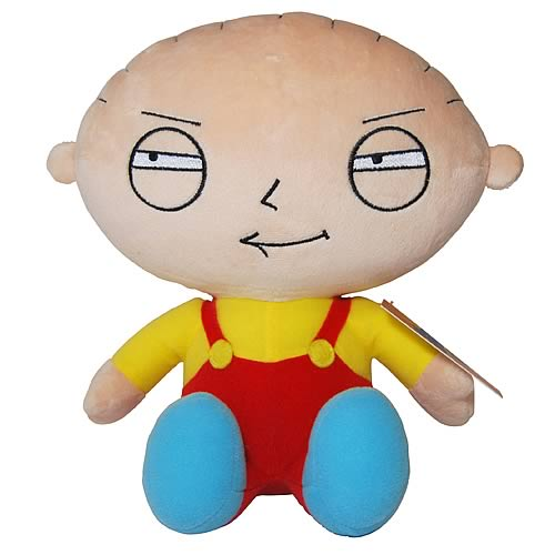 Family Guy Stewie 8-Inch Talking Plush
