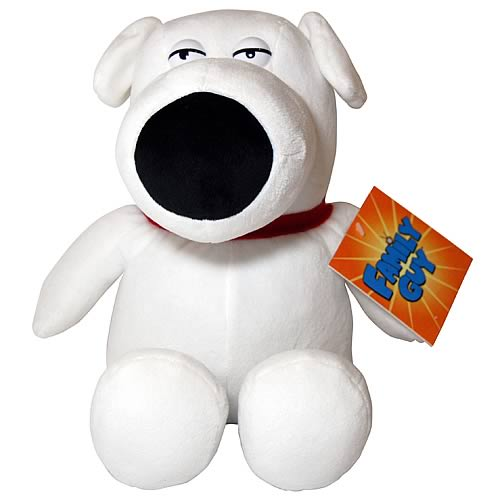 Family Guy Brian 14-Inch Plush
