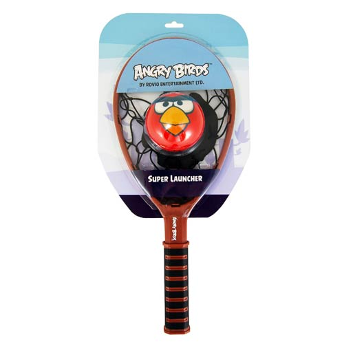 Angry Birds Plush Super Launcher with Foam Ball