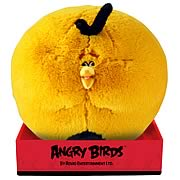 Angry Birds Orange Globe Bird Talking 16-Inch Plush