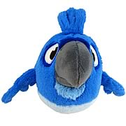 Angry Birds Rio Blue Bird Talking 16-Inch Plush