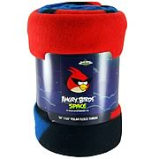 Angry Birds Space Polar Fleece Bed Throw