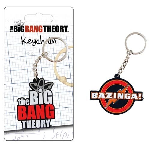 Big Bang Theory Laser Cut Key Chain
