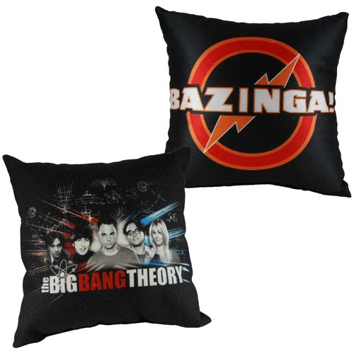 Big Bang Theory 13-Inch Square Pillow