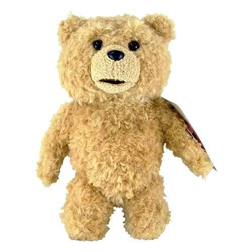 Ted 8-Inch Talking Plush Teddy Bear