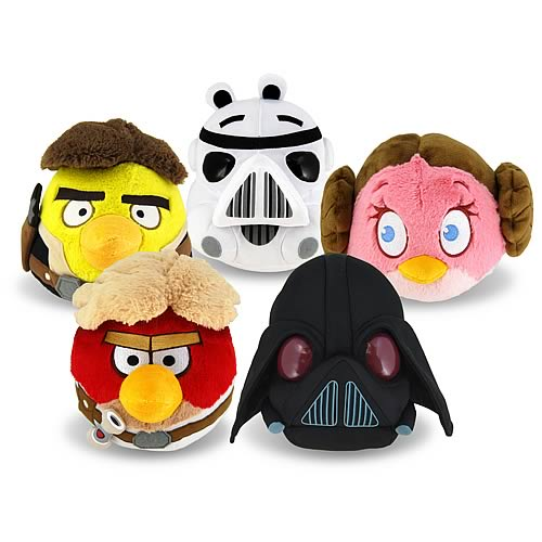 Star Wars Angry Birds Series 1 8-Inch Plush Case