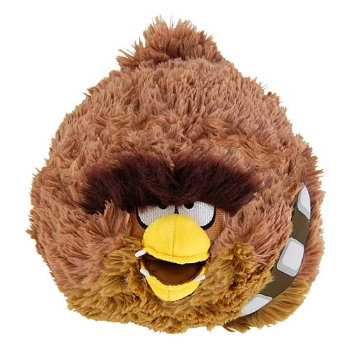 Star Wars Angry Birds 8-Inch Chewbacca Plush