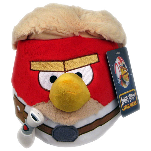 Star Wars Angry Birds Luke Skywalker 8-Inch Plush