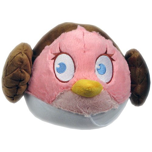 Star Wars Angry Birds Princess Leia 8-Inch Plush