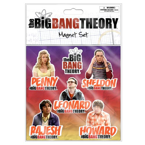 Big Bang Theory Flat Magnets