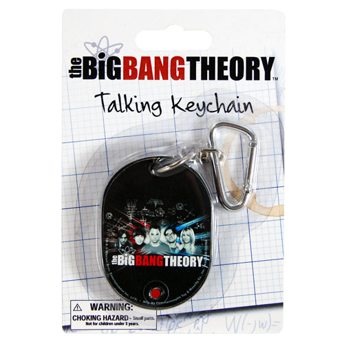 Big Bang Theory Talking Keychain