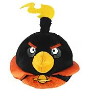 Angry Birds Space Black 16-Inch Plush with Sound