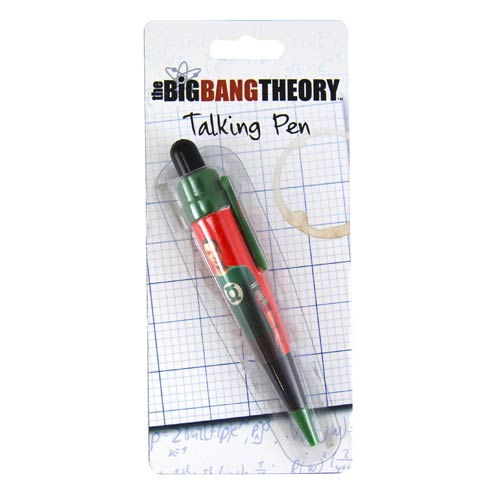 Big Bang Theory Talking Pen
