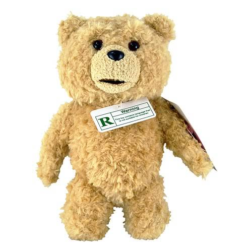 Ted R-Rated Talking 8-Inch Plush Teddy Bear