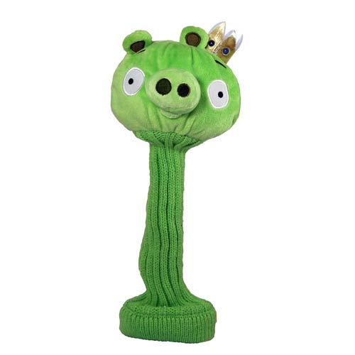 Angry Birds King Pig Plush Golf Club Cover
