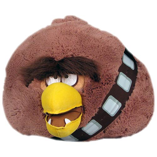 Star Wars Angry Birds 16-Inch Chewbacca Plush