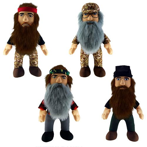 Duck Dynasty 13-Inch Talking Plush Case
