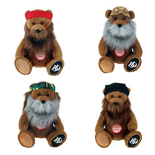 Duck Dynasty 8-Inch Talking Bear Plush Case