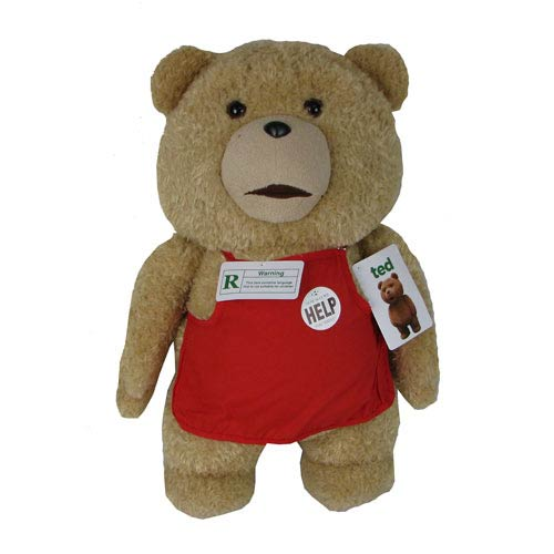 Ted in Apron 24-Inch Talking Plush Teddy Bear