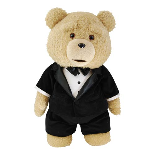 Ted in Tuxedo Limited Ed. 24-Inch Talking Plush Teddy Bear