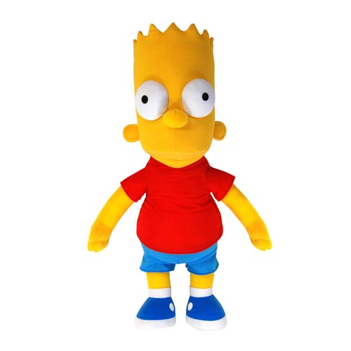 The Simpsons Talking Bart 26-Inch Plush