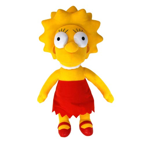 The Simpsons Talking Lisa 23-Inch Plush