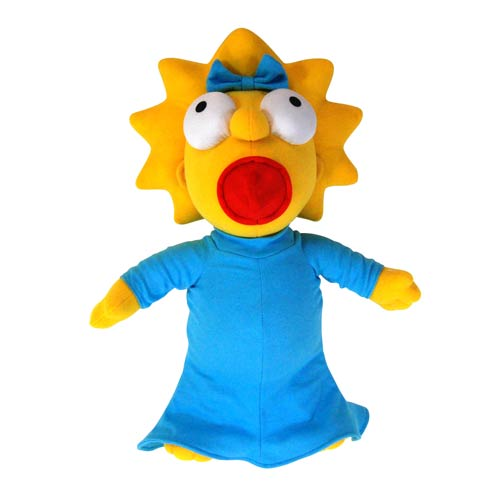 The Simpsons Talking Maggie 17-Inch Plush
