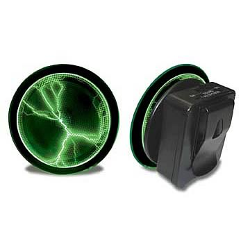 Pocket Plasma Clip-On Green Mini Disk