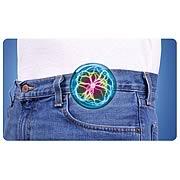 Pocket Plasma Clip-On Rainbow Mini Disk