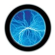 Lumin Blue Disk