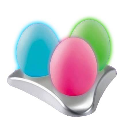 Oggz Morphing Light-Up Eggs 3-Pack